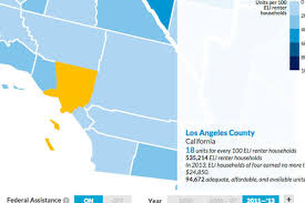 there are 18 apartments for every 100 poor families in la curbed la