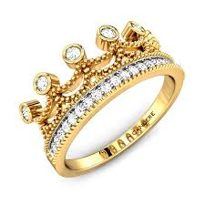 crown engagement rings images The crown diamond ring online jewellery shopping india yellow jpg