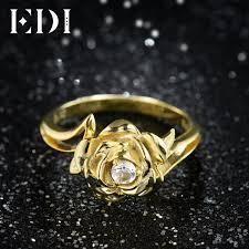 natural wedding rings images Edi gorgeous 3mm natural diamond wedding rings real 14k 585 white jpg
