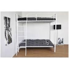 lit en hauteur avec canapé déco lust lit mezzanine avec canapé clic clac blanc brandalley