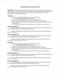 resume objective statements entry level sales positions objective section of resume exles