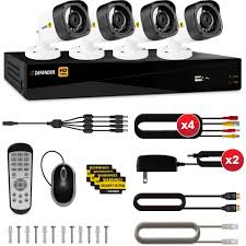 defender hd 1080p 8 channel 1tb dvr security system with 4 bullet