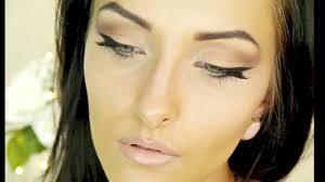 angelina jolie inspired cat eye makeup tutorial round eyes to