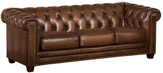 Amax Leather Furniture High Quality Top Grain Leather At Stanley Park Ii Brown Leather Sofa From Amax Leather Coleman