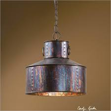 Uttermost Bathroom Lighting Uttermost Giaveno 1 Light Pendant In Oxidized Bronze Light