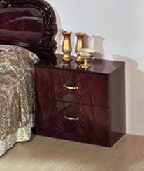 traditional furniture complete set serena mahogany traditional italian bed