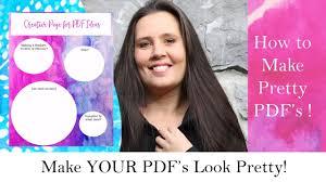 diy pdf u0027s how to make your pdf u0027s look pretty how to make a pdf