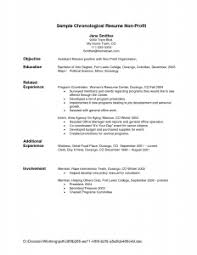 Sample Non Profit Resume by Resume Examples 10 Pictures Of Good Recommend Detailed