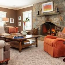 orange living room chairs foter