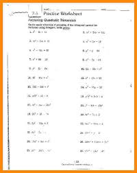 factoring worksheets fts e info