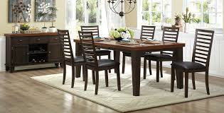 homelegance walsh dining set two tone 5109 dining set