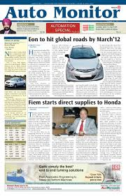 auto monitor 16 31 december 2011 by infomedia18 issuu
