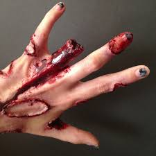 piranha attack special effects makeup for halloween check out the