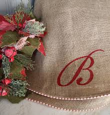 unique burlap tree skirt related items etsy in amazing burlap