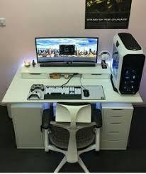 Gaming Setup Desk 135 Best Home Entertainment Images On Pinterest Pc Setup Gaming