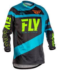 motocross pants and jersey f 16 blue hi vis jersey fly racing motocross mtb bmx