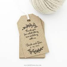 wedding tags thank you tag medium wedding tag gift tag laurels