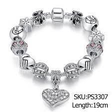 silver charm bead bracelet images Unique silver charm bracelet for her at buyitgreat jewelry store jpg