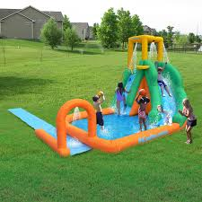 Water Slides Backyard by Swimming Pools U0026 Waterslides Walmart Com