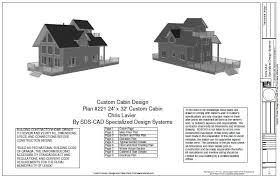 The G442 50x30x12 Garage Plans Free House Plan Reviews by Plan 221 24 U2032 X 32 U2032 Custom Cabin Design Free House Plan Reviews