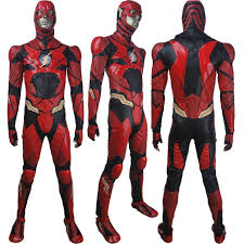 Halloween Birthday Gifts Kids Justice League The Flash Barry Allen Cosplay Halloween