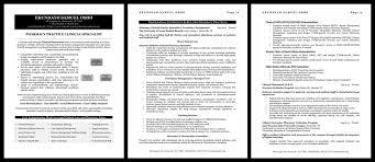 Clinical Pharmacist Resume Samples U2013 Team Resumepro