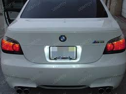 upgrade bright led license plate lights for bmw e60 m5 ijdmtoy