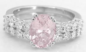 baby engagement rings images Natural light pink sapphire engagement ring in 14k white gold gr 5911 jpg
