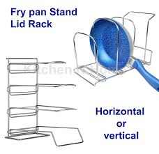 kitchen storage rack frypan holder frypan rack pan rack lid rack