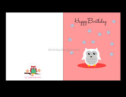 birthday cards free printable 5 best birthday resource gallery