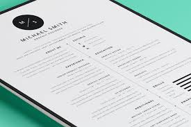 clean resume template 35 best resume templates of 2016 dzineflip simple and modern resume templates