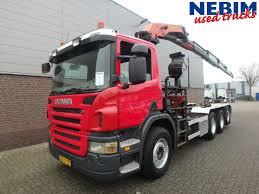 scania p380 8x4 euro 4 palfinger pk20002c r c stock u2014 nebim