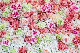 flower backdrop blush pink green white flowers wall backdrop wedding colorful
