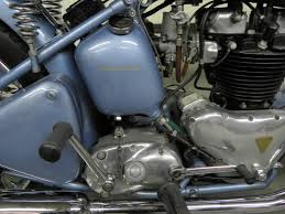 restored triumph thunderbird 6t 1952 photographs at classic