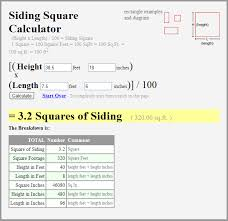 8 feet in inches new siding squares calculator the siding blog