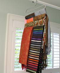 Creative Way To Hang Scarves by Storage For Scarves 185 Best Jewelry Scarf Organization Images On