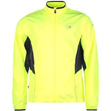 fluorescent cycling jacket mens hi viz reflective run cycling jacket autumn winter 2016 bright