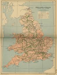 Map Of Wales Map Of England And Wales Under The Tudors 1485 1603