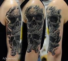 photos 25 awesome skull sleeve tattoos and designs how to