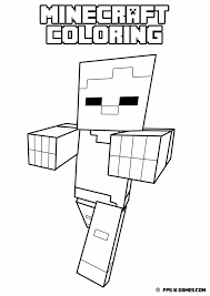minecraft coloring pages images photo albums printable