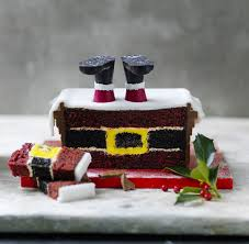 Christmas Cake Decorations Traditional Santa by Santa U0027s Stuck In The Chimney Is Marks And Spencer U0027s Best Selling