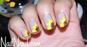 nail nerd nail art for nerds happy little flower nails