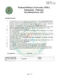 Ndu Attestation Letter paste recent passport size photograph duly attested paste recent
