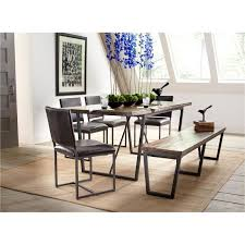 rc willey kitchen table plaza natural grey 5 piece dining set rc willey home furnishings