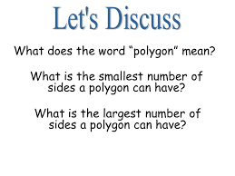what does the word polygon ppt
