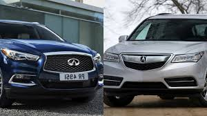 infiniti qx60 2016 interior 2016 infiniti qx60 vs acura mdx youtube