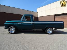 Old Ford Truck Colors - kick it old with this dark forest green 1966 ford f 100
