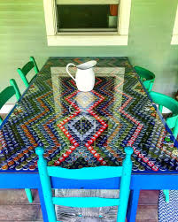 bottle cap table designs save as many as you can these bottle caps can bring out the