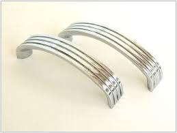 croft 7006 art deco cupboard door knobs in chrome or nickel from