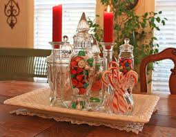 Christmas Table Decorating Rustic by
